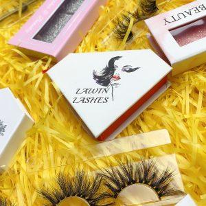 customize eyelash boxes